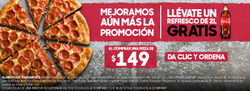 Ofertas de Pizza Hut  en el folleto de Zapopan