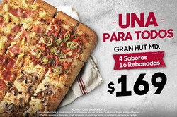 Ofertas de Pizza Hut  en el folleto de Cuernavaca