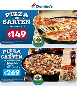 Ofertas de Domino's Pizza  en el folleto de Xalapa