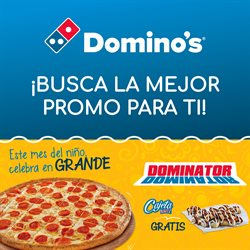 Ofertas de Restaurantes  en el folleto de Domino's Pizza en Cancún