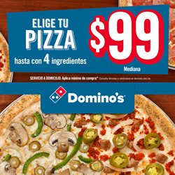 Ofertas de Restaurantes  en el folleto de Domino's Pizza en Hermosillo
