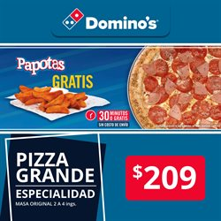 Ofertas de Domino's Pizza  en el folleto de Puebla