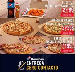 Ofertas de Restaurantes en el catálogo de Domino's Pizza en Guanajuato ( Publicado hoy )