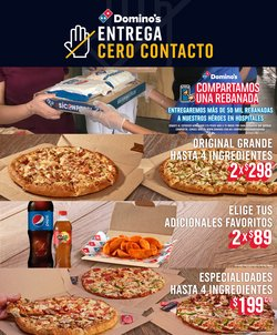 Catálogo Domino's Pizza ( Publicado ayer )