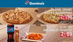Ofertas de Domino's Pizza en el catálogo de Domino's Pizza ( Vencido)