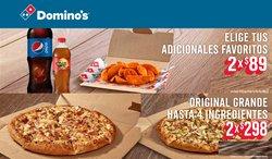 Catálogo Domino's Pizza ( 9 días más)