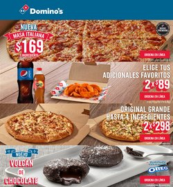 Catálogo Domino's Pizza ( 7 días más)
