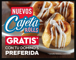 Ofertas de Domino's Pizza  en el folleto de Irapuato