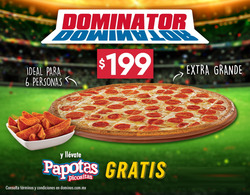 Ofertas de Domino's Pizza  en el folleto de Irapuato