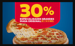 Ofertas de Restaurantes  en el folleto de Domino's Pizza en Guaymas