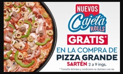 Ofertas de Restaurantes  en el folleto de Domino's Pizza en Zihuatanejo