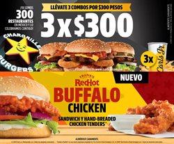 Ofertas de Restaurantes en el catálogo de Carl's Jr en Ecatepec de Morelos ( 11 días más )