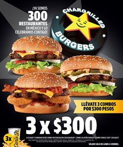 Ofertas de Restaurantes en el catálogo de Carl's Jr en Guadalupe (Nuevo León) ( 26 días más )