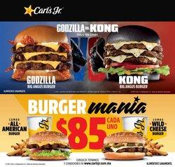 Ofertas de Restaurantes en el catálogo de Carl's Jr en Miguel Hidalgo ( 5 días más )