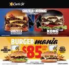 Ofertas de Restaurantes en el catálogo de Carl's Jr en Veracruz ( 17 días más )