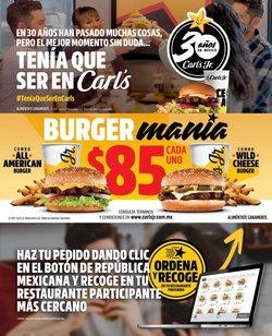 Ofertas de Restaurantes en el catálogo de Carl's Jr ( 10 días más)