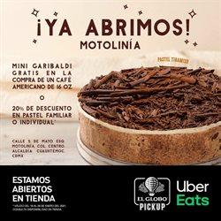 Ofertas de Restaurantes en el catálogo de El Globo en Zapopan ( 2 días más )