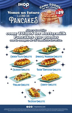 Ofertas de Restaurantes en el catálogo de Ihop en Naucalpan (México) ( Caduca hoy )