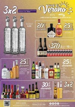 Ofertas de Hiper-Supermercados en el catálogo de Bodegas Alianza ( Vence mañana)
