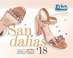 Ofertas de Price Shoes  en el folleto de Cuajimalpa de Morelos