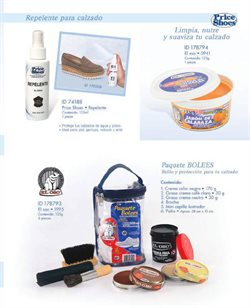 Ofertas de Pintura  en el folleto de Price Shoes en Celaya