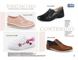 Ofertas de Zapatos  en el folleto de Price Shoes en Ecatepec
