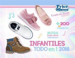 Ofertas de Price Shoes  en el folleto de Cuernavaca