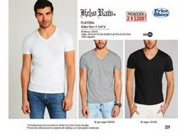 Ofertas de Playera hombre  en el folleto de Price Shoes en Lerdo (Durango)