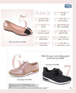 Ofertas de Zapatos  en el folleto de Price Shoes en Chihuahua