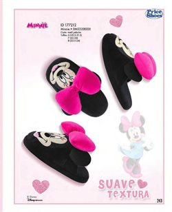 Ofertas de Minnie Mouse  en el folleto de Price Shoes en Zapopan