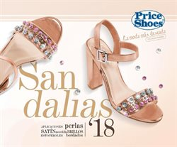 Ofertas de Sandalias  en el folleto de Price Shoes en Ecatepec