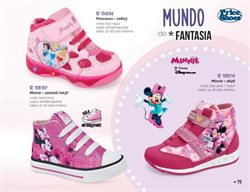Ofertas de Minnie Mouse  en el folleto de Price Shoes en Nezahualcóyotl