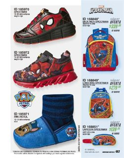 Ofertas de Spiderman  en el folleto de Price Shoes en Cuajimalpa de Morelos