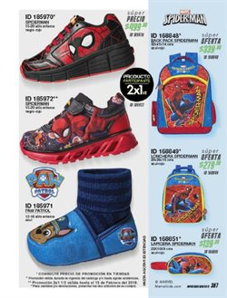 Ofertas de Spiderman  en el folleto de Price Shoes en Tlaquepaque