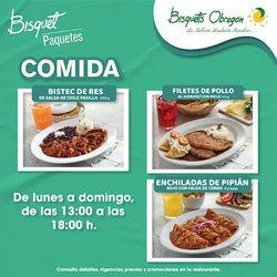 Catálogo Bisquets Obregón ( 7 días más)