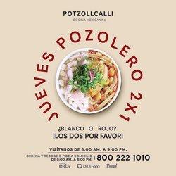Ofertas de Restaurantes en el catálogo de Potzollcalli en Miguel Hidalgo ( Publicado ayer )