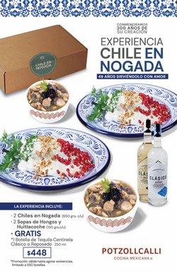 Ofertas de Restaurantes en el catálogo de Potzollcalli ( 8 días más)