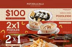 Ofertas de Restaurantes en el catálogo de Potzollcalli ( 5 días más)