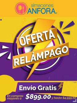 Ofertas de Tiendas Departamentales en el catálogo de Almacenes Anfora ( Vence hoy)