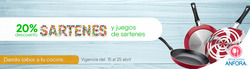 Ofertas de Almacenes Anfora  en el folleto de Ecatepec