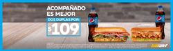Cupón Subway en La Paz ( Más de un mes )