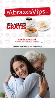 Ofertas de Restaurantes en el catálogo de Vips ( 11 días más)