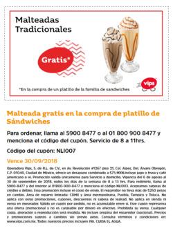 Ofertas de Vips  en el folleto de Ciudad de México