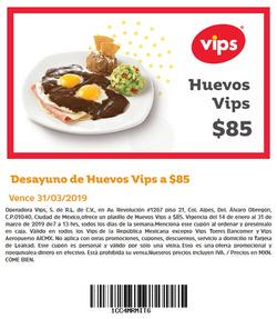Ofertas de Vips  en el folleto de Coyoacán