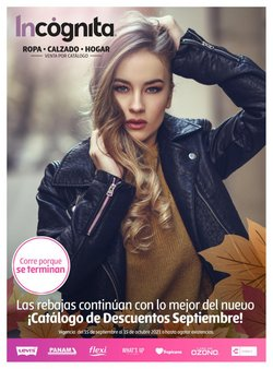 Catálogo Incógnita ( Publicado hoy)