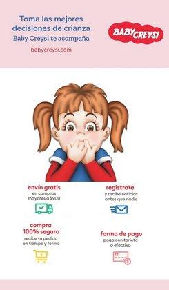 Ofertas de Juguetes y Niños en el catálogo de Baby Creysi en Naucalpan (México) ( 3 días publicado )