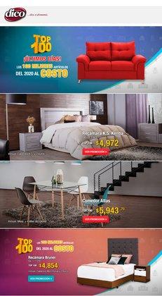 Ofertas de Hogar y Muebles en el catálogo de Muebles Dico ( Vence mañana )