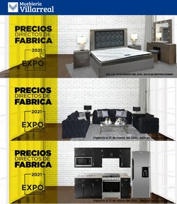 Catálogo Mueblería Villarreal ( Caducado )