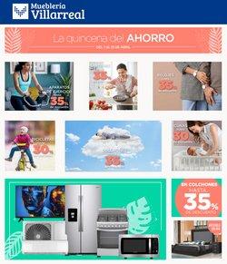 Catálogo Mueblería Villarreal ( 5 días más )