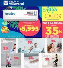 Ofertas de Mueblería Villarreal en el catálogo de Mueblería Villarreal ( 17 días más)